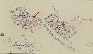 Veldwerkkaart Hijum B 8, Hulpkaart 4, 1884, fragment. Foto (CC): Kadaster.