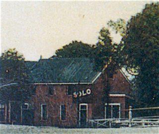 Stiens, fragment van ansicht 'Logement Fierstra'. ca. 1910.