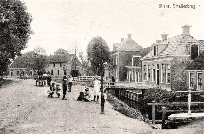 Stiens Smallenbrug, 1906.
