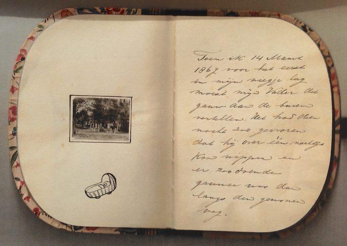 Dagboek van Aaltje Iest. 1937. Archief P.K. van Boven.