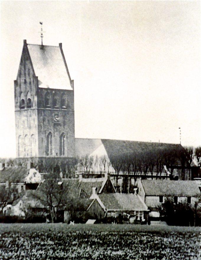 Gezicht op Smelbrêge vanuit het westen. Ca. 1950.