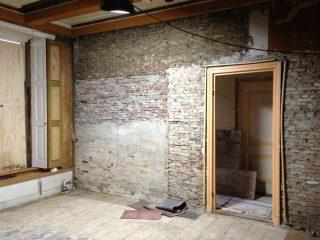 Voormalige spreekkamer, gangzijde