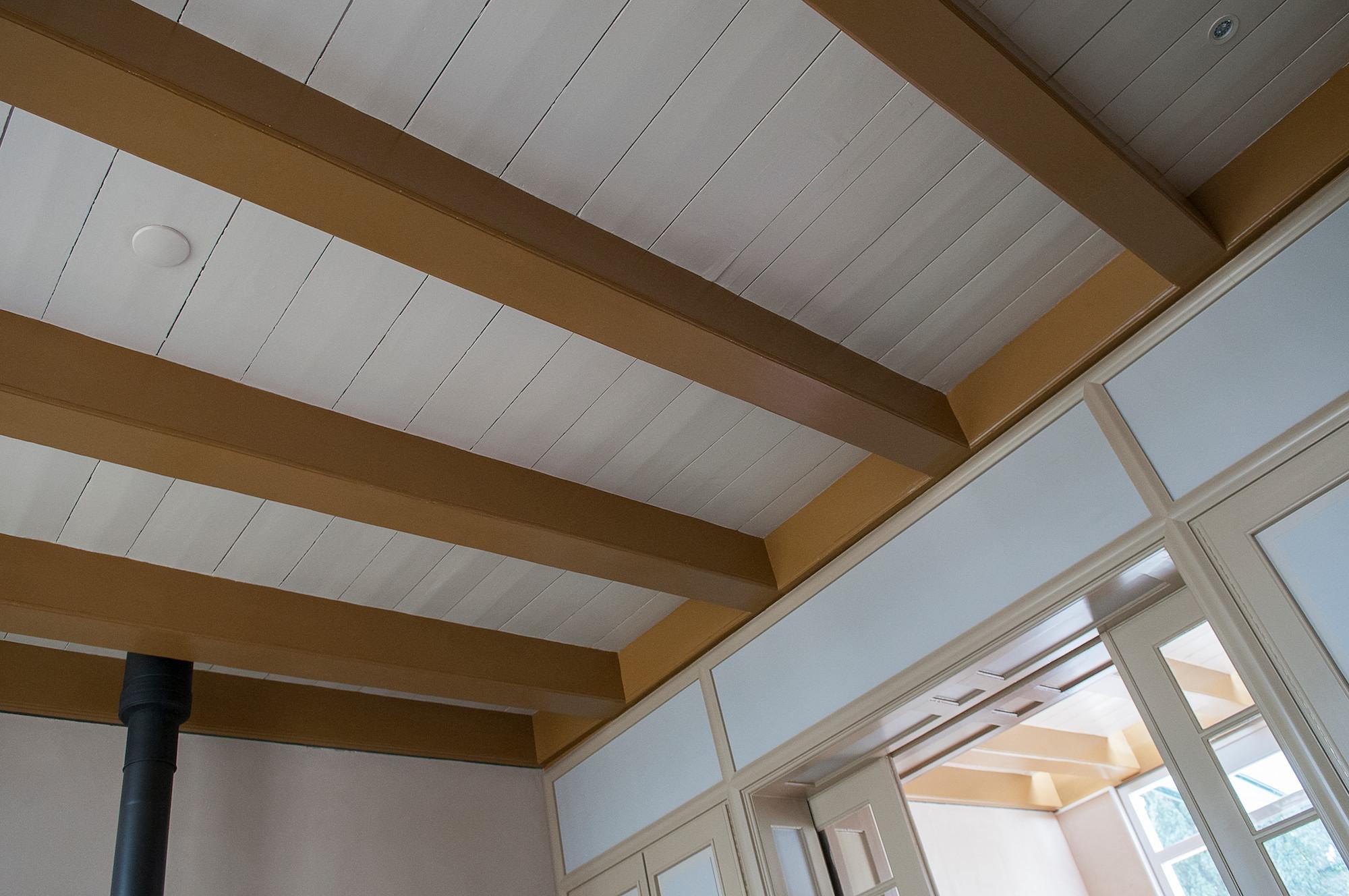 Plafonds Woonkamer : Plafond woonkamer foto edward roussou