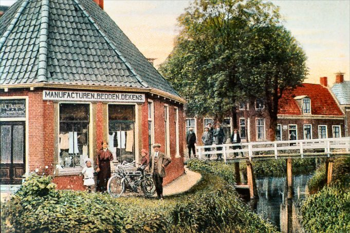 Winkelpand Hillebrand Dijkstra op Smelbrêge 8. Ca. 1920.