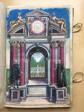 Pierre Vallet, Le jardin du Roy très chrétien Henry IV ... dédié á la Royne, 1608