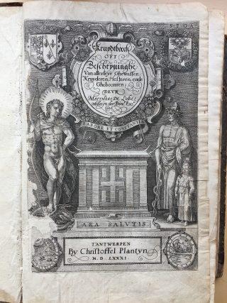 Matthias de Lobel, Kruydtboeck, 1581