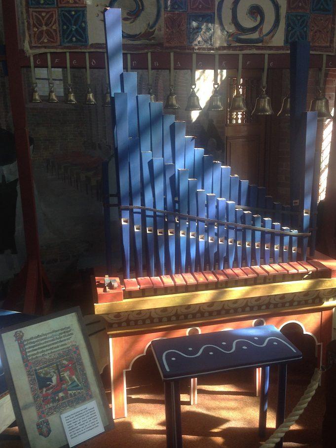 Rutland orgel en carillon. Foto: Ensemble Super Librum