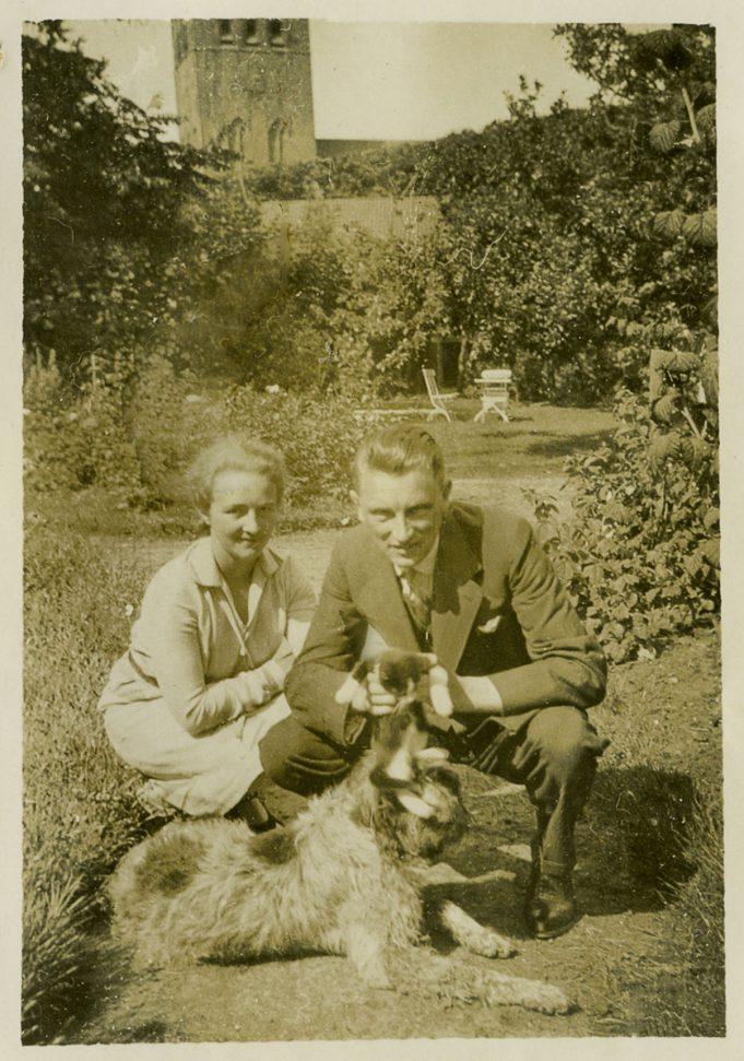 Johannes Bosma met zijn vrouw Jeltje Kooistra